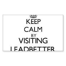 Keep calm by visiting Leadbetter California Sticke