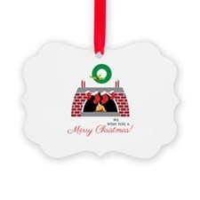 We Wish You A Merry Christmas! Ornament