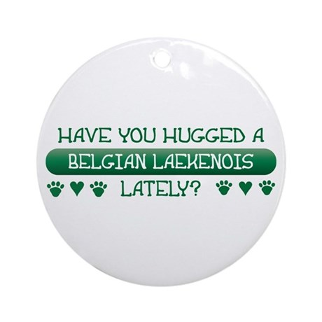 Hugged Laekenois Ornament (Round)