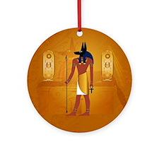 Anubis1 Ornament (Round)