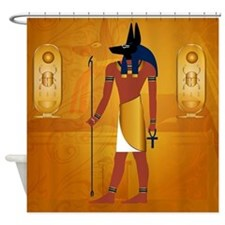 Anubis1 Shower Curtain