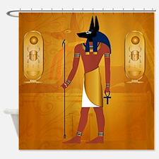 Anubis1 Shower Curtain