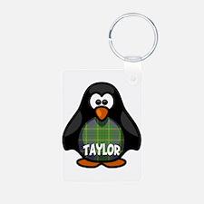 Taylor Tartan Penguin Keychains