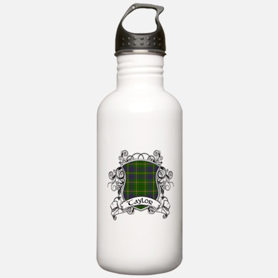 Taylor Tartan Shield Sports Water Bottle