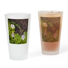 Woodland Flowers Drinking Glass