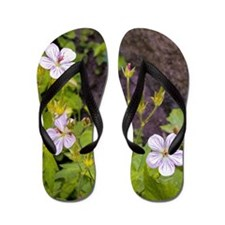 Woodland Flowers Flip Flops