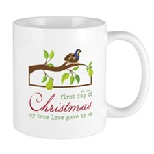 First Day Of Christmas Mugs