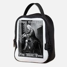 Funny Bach Neoprene Lunch Bag