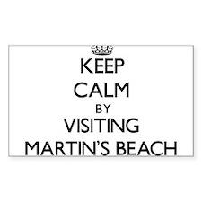 Keep calm by visiting Martin'S Beach California St