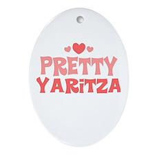 Yaritza Oval Ornament