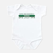 Hugged Basenji Infant Bodysuit