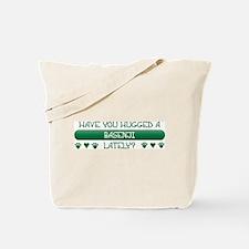 Hugged Basenji Tote Bag