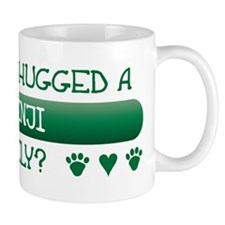 Hugged Basenji Mug