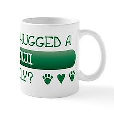Hugged Basenji Small Mug