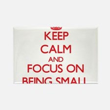 Keep Calm and focus on Being Small Magnets