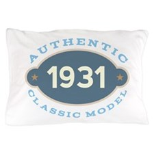 1931 Birth Year Birthday Pillow Case