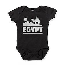 Egypt Scene Baby Bodysuit