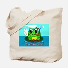 froggie longing.png Tote Bag