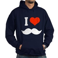 I love mustache Hoodie