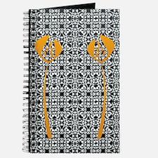 Orange wedding Journal