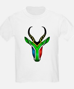 Springbok Flag 2 T-Shirt