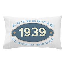 1939 Birth Year Birthday Pillow Case