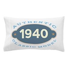 1940 Birth Year Birthday Pillow Case