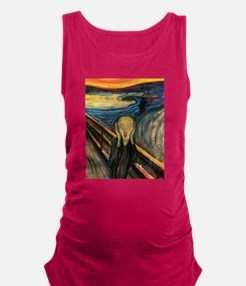 The Scream Maternity Tank Top
