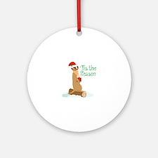 Tis The Season Ornament (Round)