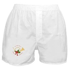 We Wish You A Merry Christmas Boxer Shorts