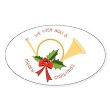 We Wish You A Merry Christmas Decal