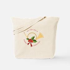 We Wish You A Merry Christmas Tote Bag