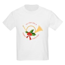 We Wish You A Merry Christmas T-Shirt