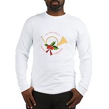 We Wish You A Merry Christmas Long Sleeve T-Shirt