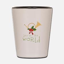 Joy To The World Shot Glass