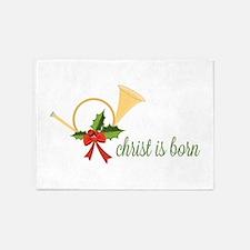 Christ Is Born 5'x7'Area Rug