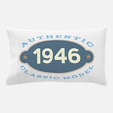 1946 Birth Year Birthday Pillow Case