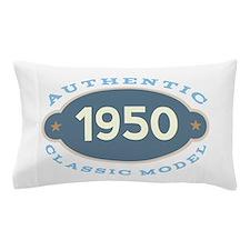 1950 Birth Year Birthday Pillow Case