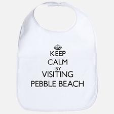 Cute Pebble beach california Bib