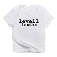 level 1 human (level one human) Infant T-Shirt