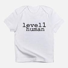 level 1 human (level one human) Infant T-Shirt