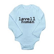 level 1 human (level one human) Body Suit