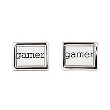 gamer Rectangular Cufflinks