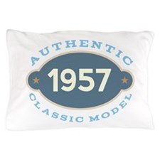 1957 Birth Year Birthday Pillow Case