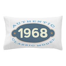 1968 Birth Year Birthday Pillow Case