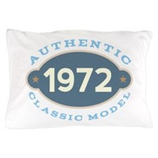 1972 Birth Year Birthday Pillow Case
