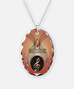 Music, Clef Necklace