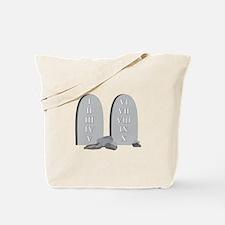 10 Commandments Tote Bag