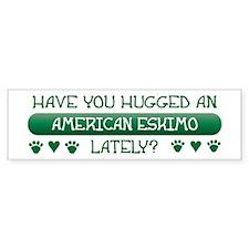 Hugged Eskimo Bumper Bumper Sticker