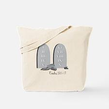 Exodus 20:1-17 Tote Bag